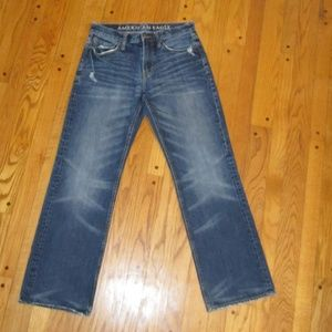 AMERICAN EAGLE BOOT CUT JEANS MENS 30/32 NICE!!